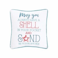 "10"" Square Shell In Pocket Pillow"