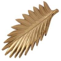 """10"""" Gold Metal Frond Trivet"""