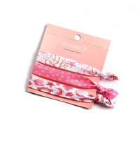 Set of 3 Coral Sealife Hair Ties
