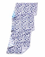 "12"" x 39"" Blue Sealife Cooling Towel"