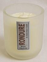 9.5 oz White Gardenia Rondure Candle Jar