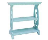 """35"""" Turquoise Seahorse Console"""