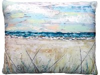 "19"" x 24"" Beach Landscape 2 Pillow"