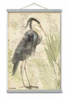 """45"""" x 30"""" Great Heron 1 Wall Art"""