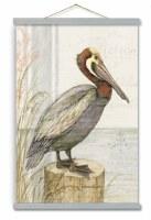 "45"" x 30"" Pelican Perch Wall Art"