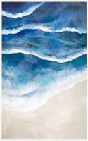"""60"""" x 38"""" Gulf Coast Framed Canvas"""