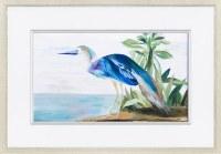 "25"" x 35"" Solo Heron 2 Framed Print"