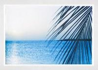 "26"" x 37"" Palm and Ocean Framed Gel Print"