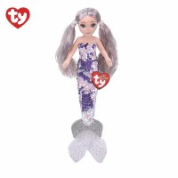 TY Medium Flippable Athena The Platinum Mermaid
