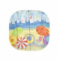 """5.5"""" Square Ocean Vista Plate"""
