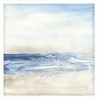 """32"""" Square Surf & Sand Framed Canvas"""