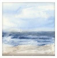 """32"""" Square Surf & Sails Framed Canvas"""