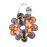 "18"" Multicolored 3D Flip Flop Door Decor"