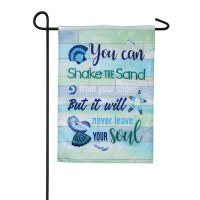 "18"" x 12"" Mini Shake The Sand Garden Flag"