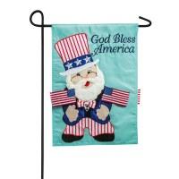 """18"""" x 12"""" Mini God Bless America Garden Flag"""