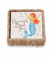 Mermaids Drink Free Beverage Napkin and Holder