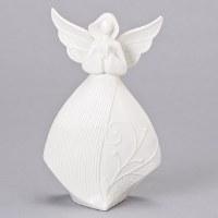 """8"""" White Angel Praying Figurine"""