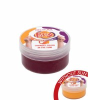 Solar Color Changing Putty, Orange To Purple