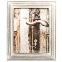 """8"""" x 10"""" Washed Gray Picture Frame"""
