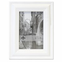 "4"" x 6"" Weathered White Picture Frame"