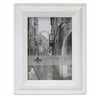 "5"" x 7"" Weathered White Picture Frame"
