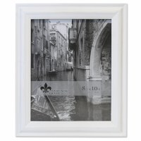"""8"""" x 10"""" Weathered White Picture Frame"""
