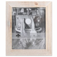 """8"""" x 10"""" White Wooden Picture Frame"""