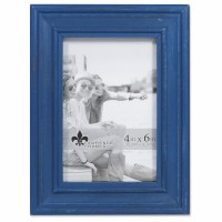 "4"" x 6"" Weathered Navy Picture Frame"
