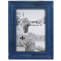 "5"" x 7"" Weathered Navy Picture Frame"