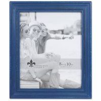 """8"""" x 10"""" Weathered Navy Picture Frame"""