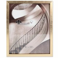 """8"""" x 10"""" Gold Brushed Picture Frame"""