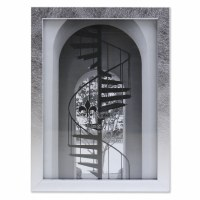 "5"" x 7"" Silver Brushed Picture Frame"