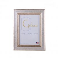"""8"""" x 10"""" Silver and Gold Cambridge Picture Frame"""