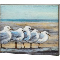 "21"" x 26"" Seagulls Wooden Plaque"