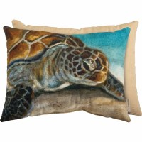 "15"" x 20"" Sea Turtle Pillow"