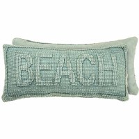 "8"" x 16"" Turquoise Beach Pillow"