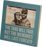 "3"" x 5"" Tans Fade Wooden Picture Frame"