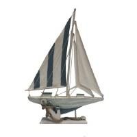 "20"" Blue Sailboat"