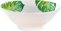 "7"" Round Monstera Bowl"