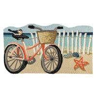 "24"" x 42"" Beach Bike Doormat"