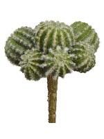 """5.5"""" Faux Green Barrel Cactus Pick"""