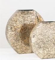 """15"""" Platinum Mosaic Vase"""