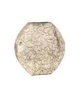 """12"""" Platinum Mosaic Vase"""