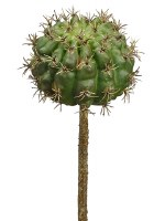 "7"" Faux Green Barrel Cactus Pick"