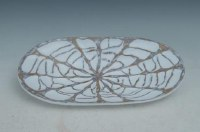 """18"""" Round Tropical Polystone Plate"""