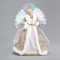 "16"" Fiber Optic Angel Figurine"