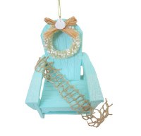 "4"" Seafoam Beach Chair Ornament"