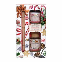Peppermint Diffuser and Votive Candle Gift Set