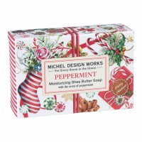 4.5 oz Small Peppermint Soap Bar
