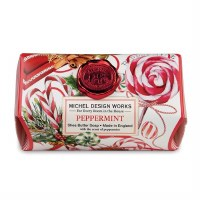 8.7 oz Large Peppermint Soap Bar
